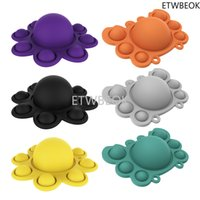 Rodent Pioneer FingerToy Bubble Music Flip Silicone Decompression Vent Educational Toy Gift POP Decompression toys