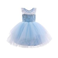 Girls Dresses 1st Birthday Dress For Baby Girl Princess Children Clothes Kids Clothing Flower Wedding Party Formal Lace B6144