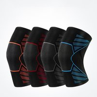 Elbow & Knee Pads Sports Fitness Stretch Leg Protector Knitted Pad Sleeve Nylon Breathable Support Compression Warm