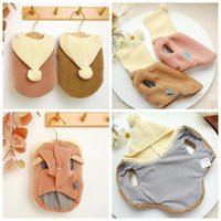 Dog Apparel Warm Winter Clothes Cute Coat Hoodies Fleece Pet Dogs Costume Jacket Thicken Puppy Outfit