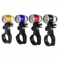 Bright Mini Flashlight for Cycling Household Sundries Strong Lighting Flashlights Mountain Headlight Bicycle Light Riding Equipment OWF7827