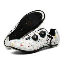 Highway Camo Microfiber Riding Shoes Bike Road Car Hard Camouflage Cycling Footwear