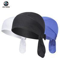 Велоспорт Caps Masks Men Wiking Летняя шапка быстрое сухое дышащая голова шарф Bandana Sport работает Anti-UV Pirate Headwear Bike Ciclismo