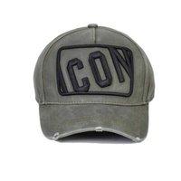 New Italy Icon Brand Hat Men Unisex Adjustable Women Dq Baseball Caps Letter Black Cap Shark Bucket Beret Ny