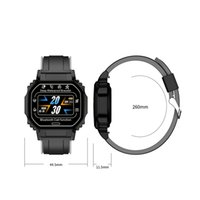 B2 Akıllı İzle Erkekler Kadınlar Spor Izci Smartwatch Kalp Hızı Kan Basıncı Monitör IOS Android için Su Geçirmez Wirstband