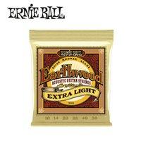 Ernie Ball Acoustic Guitar Strings Set Earthwood Bronze Strings per chitarra Strumenti musicali