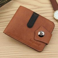 Wallets Men's Leather Wallet Short Purse For Man 2021 Holder Money Bag Coin Hasp Small Portafoglio Uomo