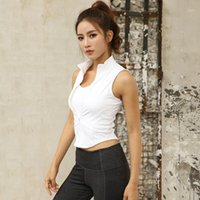 Yoga Tops Fitness Women Sexy Gym Sportswear Vest Fitness Tight Sport Shirt Women Sleeveless Quick Dry Running Yoga Tank Top1