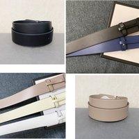 Brandname Gürtel Männer und Frauen General Leder Mode High-End Custom Top Layer Rindsleder 4cm Brief Gold Silber Schnalle