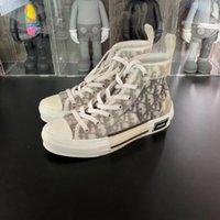 Neue schräg B23 High Tief Top Sneakers 061601 Homme x KÀws von Kìm Jones Männer Frauen Mode Designer Schuhe Skateboard Schuhe