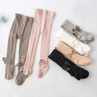 Baby Tights Kids Children Stockings Warm thick material Baby Girls Pantyhose Infant For Ribbed Stockings Cotton Warm Pantyhose 2438 Q2