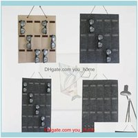 Boxes Bins Housekeeping Organization Home & Gardenhome Display Stand Wall Jewelry Hanging Multi Pouches Sunglasses Storage Bag Drop Delivery