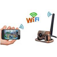 Car GPS & Accessories Wifi Truck Backup Camera Reversing Image IP67 Waterproof 180-degree Wide-angle Lens Rear View