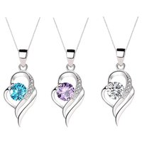 Pendant Necklaces Heart-Shape Necklace Fashion Gift For Mother's Day