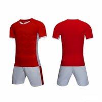 ألوان شخصية فريق فارغة رجل لكرة القدم جيرسي موحدة قمصان مخصصة مع شورت-مطبوعة اسم التصميم رقم للرجال / أطفال / شباب 002