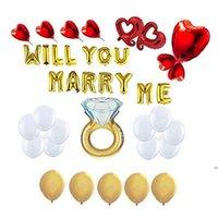 الألومنيوم فيلم بالونات إلكتروني الحب بالون مجموعة الأحبة يوم حزب ديكورات الإمدادات الزفاف الديكور الدعائم مجموعة FWE6646
