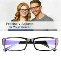 Un lecteur d'alimentation ajustant la lecture automatique des lunettes de lecture Hommes Femmes de haute qualité TR90 Matériau Lunettes de soleil