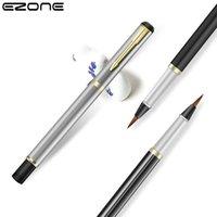 Dolma Kalemler Ezone 1 adet Taşınabilir Boya Suluboya Fırça Kalem Yumuşak Sanat Çizim Kaligrafi Fırçalar Doldurulabilir Mürekkep Okul Öğrenci Malzemeleri