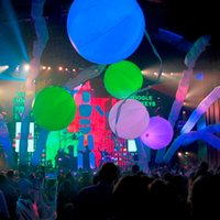 1m Color changing LED balloon light led ballon, zygote interactive balloons for stage decoration