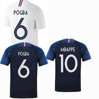 2018 2019 클래식 Pavard France Benzema 축구 유니폼 Coman Kimpembe Varane Kante Mbappe Giroud Griezmann 18 19 축구 셔츠