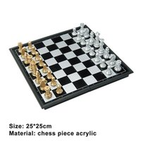 Medieval International Chess Set With Chessboard 32 Gold Silver Chess Games Pieces Magnetic Board Game Chess Figure Sets Checker 5 w2