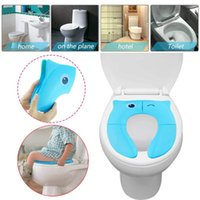 Seat Cover 2021 Foldable Potty Training Baby Travel Toilet Covers Non Slip Pads