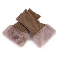 20 cm Peluche Gamba Scaldatore di Natale Donna Boot Sock Sock Covers Covers Lungata a maglia da maglia Scarpe Gamba Manica Fashion Lady Winter No Card 6 3JS G2
