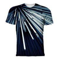 T Shirt Primavera Tech Fleece Material Digital 3D Stampa Collo rotondo Abbigliamento uomo manica corta Tees TEES POLOS