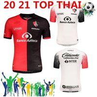 Menliga MX 2020 2021 Atlas FC Futebol Jerseys Home 20 21 L.Reyes I.Jeraldino Acosta I. Renato 10 Acosta Camisas de futebol Tailândia Maillot