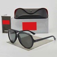 نظارات شمسية للرجل المرأة العلامة التجارية مصمم سونغ Lasses الرجال القيادة سائق الشمس نظارات الشمس UV400 حماية النظارات 4125 مع صندوق القضية