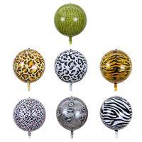 22 Zoll Aluminiumfolie Ballon Tier Cartoon-Geburtstags-Party-Dekoration 5 / -verpackung