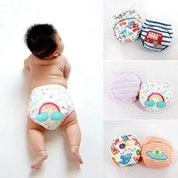 2pcs / lot Bambino Pantaloni da studio Pantaloni da pannolini Pane Pane impermeabile Riutilizzabile Pannolino Panno
