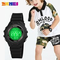Kinderuhren Sport LED Display Digital Watch Boyes Mädchen Armbanduhr Stoßfest Wasserdichte Kinder Montre Enfant Armbanduhren
