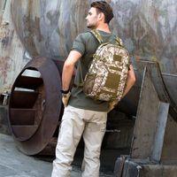Backpack Military Rucksacks Cotton Nylon 40L Waterproof Tactical Sports Mountain Jungle Camping Fishing Hunting Bags