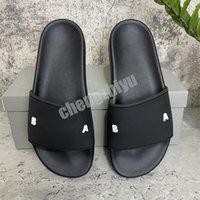 2021 Moda Homens Mulheres Chinelos Sandálias Deslize Verão Superior Qualidade Alta Flat Flecho Flip Flip Flop Orinigal Box Tamanho 36-45