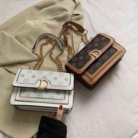 Design bag 2021 New s Texture messenger 2021 spring classic fashion brand women's single shoulder chain handbag