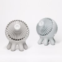 Electric Fans Portable Mini Handheld Fan USB Charging Mute Office Air Cooler Three-speed Wind Speed Adjustable