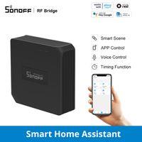 Sonoff RF Bridge Bridge Универсальный универсальный Управляющий автоматизатор Wi-Fi Конвертируйте 433 МГц Беспроводное Domotica Switch WiFi Контроллер