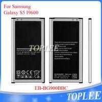 Toptan satış fiyatı! EB-BG900BBC Akü Samsung Galaxy S5 I9600 G900S G900F Yedek Piller