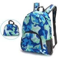 Unisex plegable viaje mochila mochila gran capacidad versátil utilitario montañismo mochilas bolso bolso de almacenamiento al aire libre ZWL167