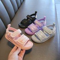 Sandali casual per bambini 2021summer nuovi ragazzi sandali morbidi fondo spiaggia scarpe da spiaggia stile coreano ragazze sandali sportivi