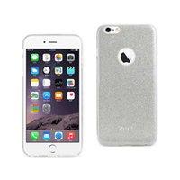 Reiko iPhone 6 Plus / 6s Plus Boîte hybride brillant brillant brillant en argent