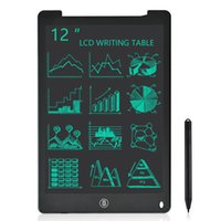 12 인치 LCD 작성 태블릿 전자 드로잉 낙서 보드 디지털 다채로운 필기 패드 아이들과 성인을위한 선물 눈을 보호
