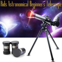 Students Experimental Astronomical Telescope space Wide Angle Powerful zoom Children's tripod telescopes for school kids gifts