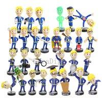 Fallout 4 Vault Boy PVC Figura Bobble Head Dolls Modello da collezione Giocattoli Giocattoli Regalo di compleanno 28 tipi