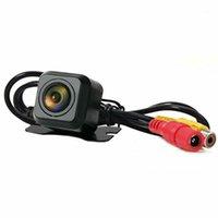 Carro retrovisor câmera universal hd noite visão backup estacionamento reverso câmera impermeável ip68 170 largo angular hd color imagem1