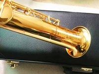 Nuovo Giappone S901 BB piatto Straight Soprano Sassofono Strumenti musicali di alta qualità Yanagisawa Soprano Sax professionale e scatola rigida