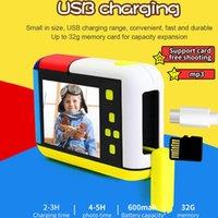 Dijital Kameralar Çocuklar Kamera 2800 W 1080 P HD Video Küçük Oyunlar Ile MIC Selfie Akıllı Mini SLR Çocuk Oyuncakları Hediye Için