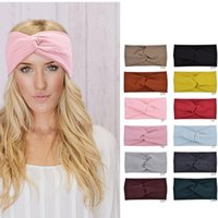 Women Fashion Yoga Headbands Stretch Elastic Hairbands Running Fitness Sweatband Turban Head Wrap Scarf Hair Accessories Girls