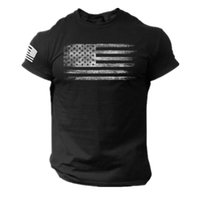 Men's T-Shirts Gym National Flag T Shirts Men Graphic Customized Products Arrival 2021